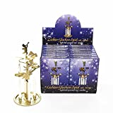 Kurt S. Adler Angel Chime Bell Pyramid with 4 Candles M0802 New
