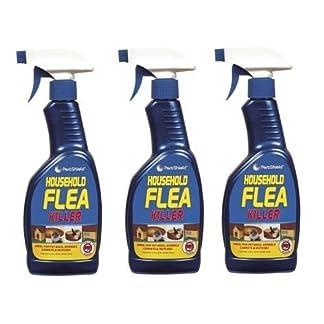 3 x Household Flea Killing Spray For Cat Dog Carpet Soft Furniture Bed 500ML New 11