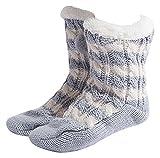 MaaMgic Donna Calze a pantofola inverno Tenere caldo antiscivolo Femmina Floor Calze
