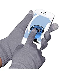 Unisex Full Finger One Size Touch Tip pantalla táctil Guantes de invierno para Yarvik TAB275 GoTab