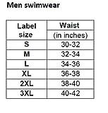 Champ Nylon Spandex Men Swimming Jammer Printed - 0H