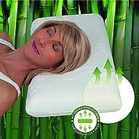 Schlafkissen Bettkissen Kopfkissen mit Reißverschluss Baumwolle 2-Kammern Kissen