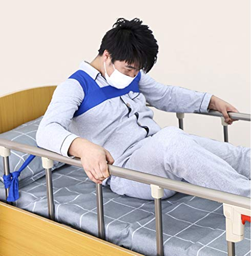 Schulter Torso Support-Regraint für die Verwendung mit Bett oder Stuhl, Medium,Blue -