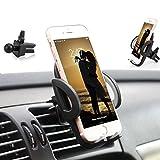 Supporto Auto Smartphone 360 Gradi di Rotazione , Rotazione regolabile a 360 ° per iPhone X / 8 Plus / 8/7 Plus, Samsung Galaxy S9 / S9 PLUS / S8 / S8 Plus / Nota 8 / Bordo S7 / Huawei Mate 10 e 10 Pro / A7 / A5 / A3, GPS, ecc., Smartphone e dispositivi GPS ( GRIS )