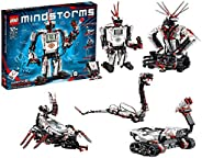 LEGO Mindstorms EV3 31313 - Robot Kit with Remote Control for Kids, Educational STEM Toy for Programming and L