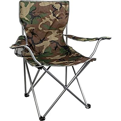 Highlander Folding Camp Chair ? Lightweight & Durable Outdoor Seat ? Perfect for Camping, Festivals, Garden, Caravan Trips, Fishing, Beach, BBQs - cheap UK light store.
