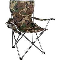 Highlander Folding Camp Chair ― Lightweight & Durable Outdoor Seat ― Perfect for Camping, Festivals, Garden, Caravan Trips, Fishing, Beach, BBQs 3