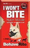 Mikki Dog Friendly Training Muzzle - Easy Fit Size 3XL
