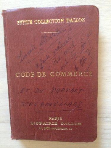 Code de commerce 1920