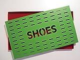 Metalltechnik & -Design Höllbacher Schuhabtropfschale Schuhablage Schuhschale Schuhwanne Schuhtablett Schuhtasse für 2 Paar Schuhe 48 x 28 cm