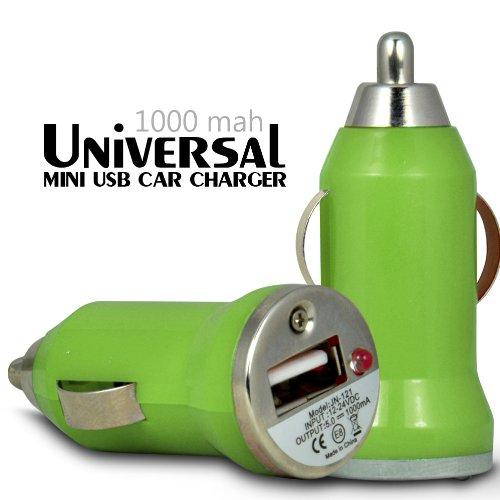 Fone-Case Motorola DROID RAZR MAXX HD Schnelle Bullet In Car USB-Ladegerät mit Lade-LED (grün)