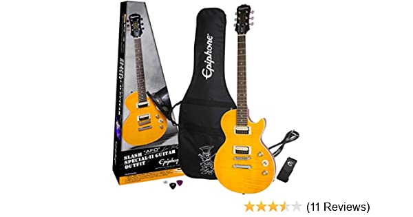 Epiphone Slash AFD Les Paul Special-II Electric Guitar Outfit - Appetite  Amber
