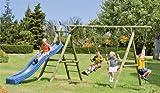 Schaukel für Kinder im Maß 430 x 190 x 220 cm ( Breite x Tiefe x Höhe )