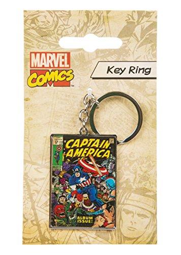 Marvel Comics Captain America Key Ring