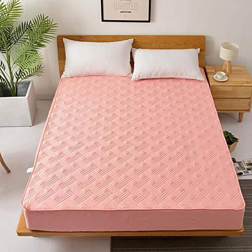 BBQBQ Matratzenbezug für Allergiker, Milbenbezug - Matratzenschutz, atmungsaktiv,Einteilige Bettdecke aus Baumwolle Hotel Hawaii - Jade 2.0x2.2m - Cover Reisebett Mesh