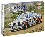 Italeri 3650 Modello in Plastica da Assemblare, Auto, Ford Escort Rs 1800 Mk.Ii Lombard Rac Rally, Model Kit, Scala 1:24