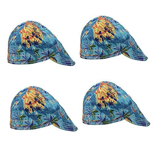 joyMerit 4 Schweißer Protective Flame Retardant Hood Hut Cap Schweißschutzhelm - Schweißer-cap
