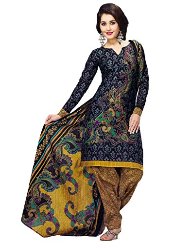 Miraan Women's Cotton Dress Material (SG9146_MultiColoured_One Size)