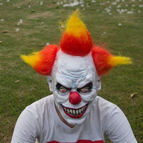 Blasen Clown Kostüm - KVBJHNU Scary Evil Clown Maske Latex