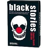 moses. black stories Funny Death Edition | 50 rabenschwarze Rätsel | Das Krimi Kartenspiel