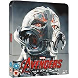 Avengers, Age of Ultron 3D, Steelbook, Blu-ray, ohne deutschen Ton, Zavvi exklusiv, Uncut, Region B