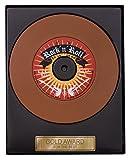 Weibler Confiserie Schallplatte Rock'n Roll 110g Edelvollmilch Schokolade
