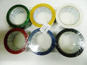 X6 rouleau ruban adhésif rouleaux couleurs déménagement largeur 4,8 cm 80 m