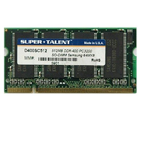 512MB Ram Laptop SODIMM Super Talent d266sc512DDR1pc-2100266MHz -