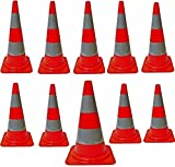 PROGEN TOP QUALITY ROAD TRAFFIC CONES 18' (490MM) SELF WEIGHTED SAFETY CONE