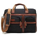 Laptop Aktentasche CoolBELL 17 Zoll schützend Messenger Bag Umhängetasche Herren