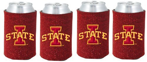 ncaa-iowa-state-cyclones-glitter-can-koosie-pack-of-4-by-kolder