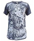 Yoga Shirts Ganesha T-Shirt für Herren' Ganesh Hindu Elefant Gott Om Namaste Top