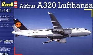 Revell Modellbausatz 04267 - Lufthansa Airbus A320 en escala 1:144