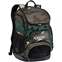 Speedo T-KIT Teamster Mochila, Unisex Adulto, Verde (Green / Yellow), 35 l