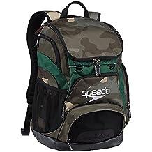 Speedo T-KIT Teamster Mochila, Unisex Adulto, Verde (Green / Yellow), 35 l