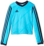 adidas Kinder Trikot Tabela14 1/1 Arm, Super Cyan/New Navy, 140, F50431