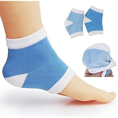 vultera (TM) Gel tallone calzini unge Spa Gel Calze Piedi prodotto per la cura per talloni screpolati