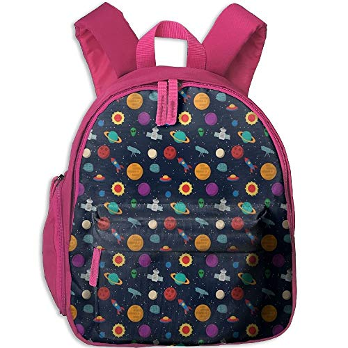 Colorful Outer Space Toddler Kids Pre School Bag Cute 3D Print Children School Backpack