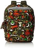 Kipling - AVA - Sac à dos médium   - Monkey Frnds Kh - (Multi-couleur)