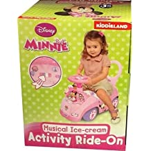 Nuevo Disney Minnie música Ice- crema Activity Ride-On.