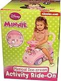 New Disney Minnie Musical Ice- Cream Activity Ride-On.