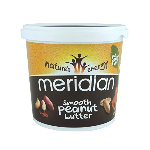 Meridian - Smooth Peanut Butter - 1Kg (Pack of 3)