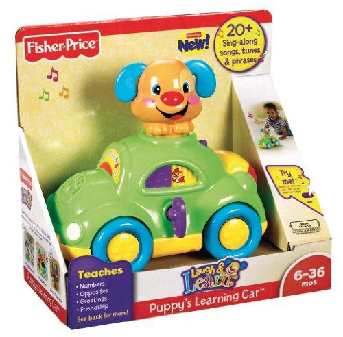 Imagen 2 de Fisher-Price Mattel - Coche Perrito Aprendizaje 21-2146X