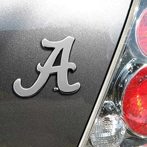 University of Alabama Crimson Tide NCAA College Chrome Plated Premium