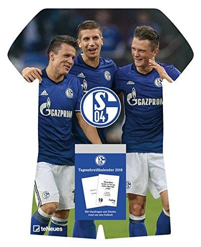 Schalke 04 Tagesabreißkalender 2018 - Fußballkalender, Schalke 04 Kalender  -  24 x 30 cm