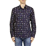 Paul Smith Herren M1r006la0024647 Blau Baumwolle Hemd