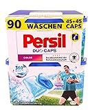 Persil Color Duo-Caps, vordosiertes Colorwaschmittel, 360° Reinheit & Pflege, 2-Kammer-Technologie, 1er Pack (2 x 45 Waschladungen)