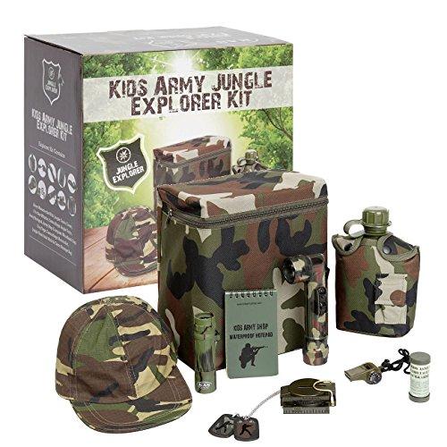 Kids Army Camouflage (Zubehör Girl Army Kostüm)