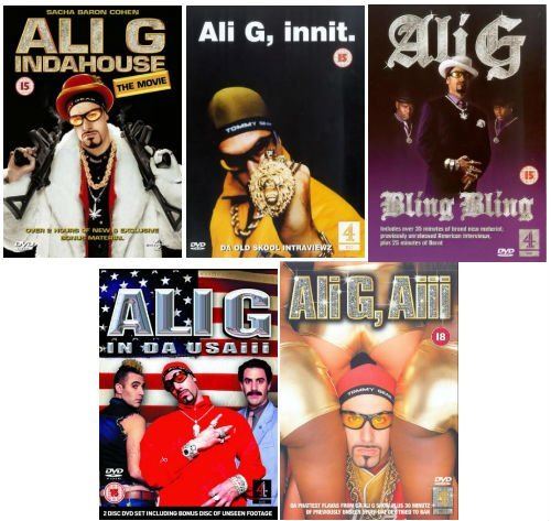 The Complete Ali G Movies DVD Collection: Ali G, Indahouse - The Movie / Ali G, Innit / Ali G, Bling Bling / Ali G in da USAiii
