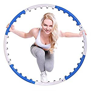 ancheer fitness reifen massage hula hoop reifen mit 40 massagenoppen sport freizeit. Black Bedroom Furniture Sets. Home Design Ideas
